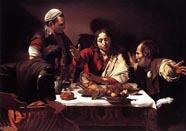 Caravaggio: Cena di Emmaus