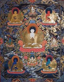 Simboli e Colori dei 5 Dhyani Buddha
