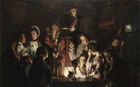 L'Esperimento di Joseph Wright of Derby