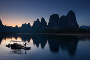 I panorami magici del fiume Li