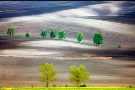I paesaggi magici di Marcin Sobas