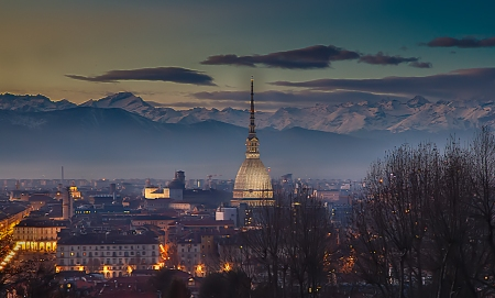 Torino: Luci, colori, ombre ed atmosfere d'inverno