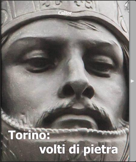 Volti di pietra a Torino