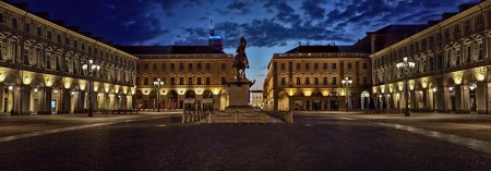Torino fotografia: golden hour d'agosto