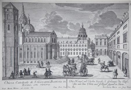 Torino ai primi del 700 nei disegni di Werner